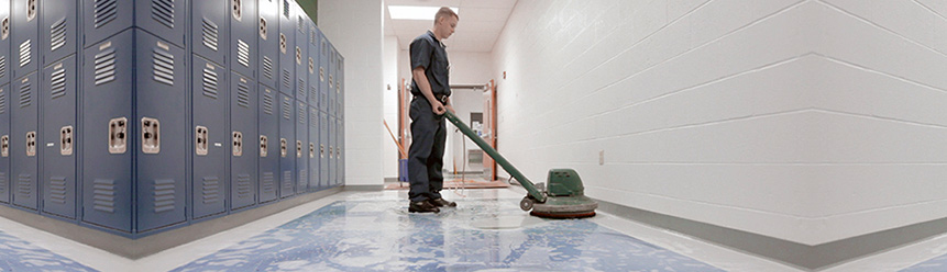 School Cleaning Image